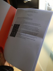 Working copy of the book