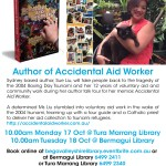 Tura Marrang Library - 17 October and Bermagui Library 18 October