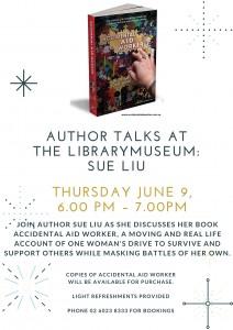 Albury City Library 9 June 6pm