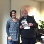 With Tom Keneally