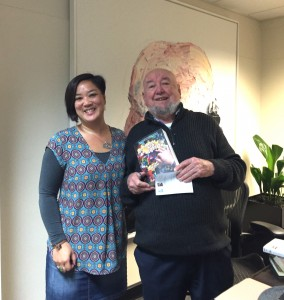 With Tom Keneally at SMSA