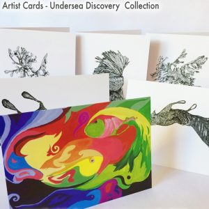 Artist Cards - Undersea Discovery Collection